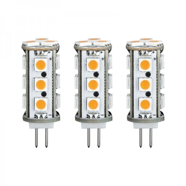 LED Leuchtmittel G4 Stiftsockel 3er Set