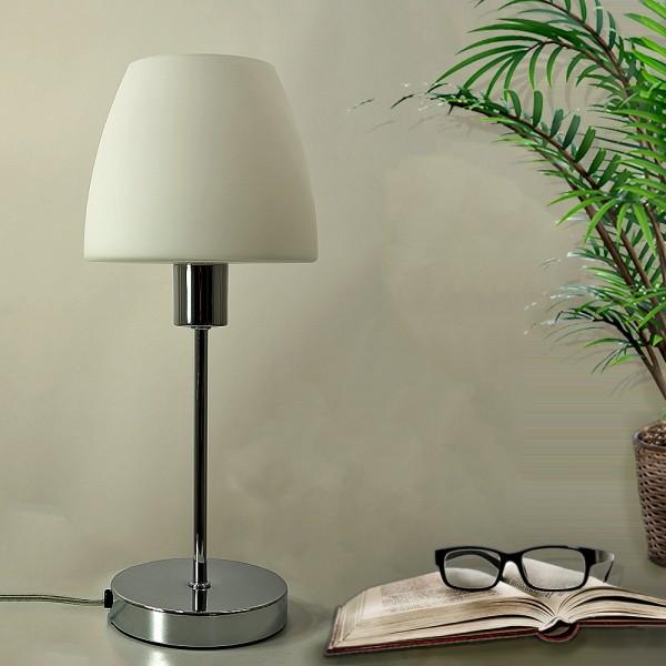LED Tischleuchte ANNA Tischlampe mit Glasschirm