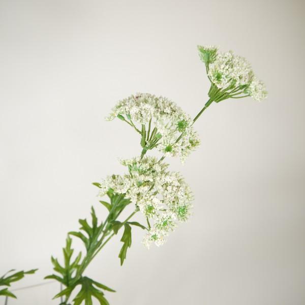 2 x Kunstblume Schleierkraut Blumenzweig Dekopflanze