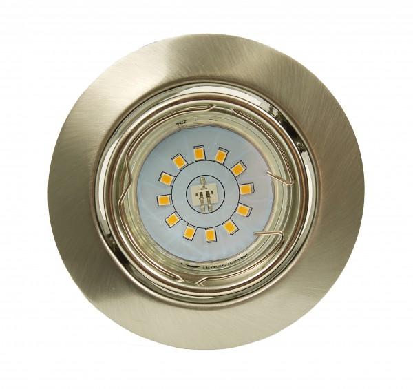 LED Einbauleuchte GU10 3Watt