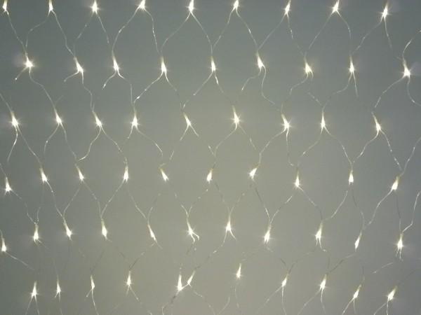 120 LED im Lichtnetz Lichtvorhang Beleuchtung für Außen und Innen