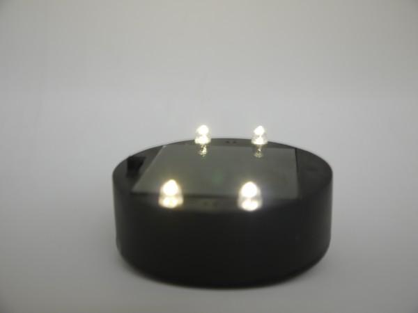 Solarmodul mit LED Leuchtmitteln für Solar-Kugel-Leuchte MARLA Ersatzsolareinheit