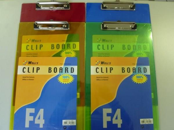 Clip Board A4 4er Set