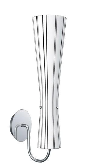 Moderne Glas Wandleuchte SILIJA Wandlampe
