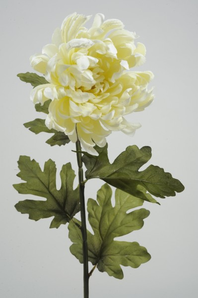2 x Seiden-Chrysantheme im Set Kunstblumen