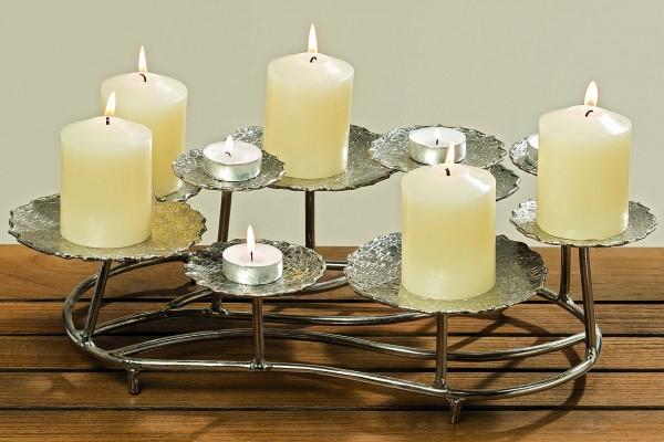 Kerzen-Teelicht-Lleuchter ANIPA Dekolicht Weihnachtsdeko
