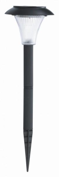 LED Außensolarleuchte Shona Kunststoff, schwarz