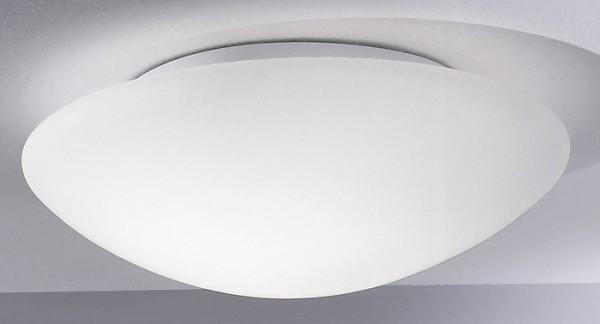 Glas Deckenleuchte ABANO 2 flammig Decken-Wandlampe