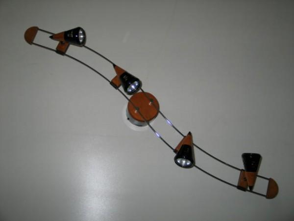 Deckenbogen Strahler 4 flammig Spotleuchte Deckenlampe