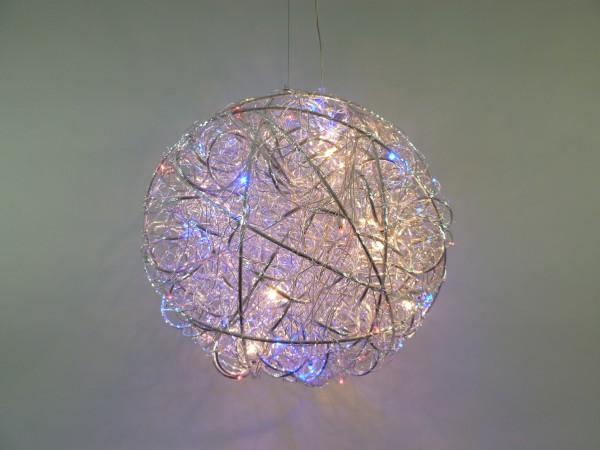 LED + Halogen Pendel-Decken-Luchte ALINA mit Fernbedienung