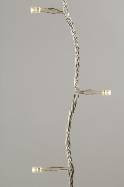 LED Lichterkette 96 flammig batteriebetrieben Time Funktion außen und Innen