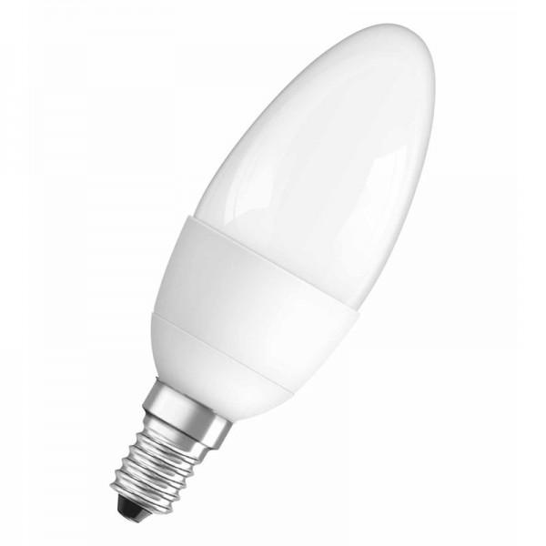 LED Leuchtmittel E14 Kerzenform matt
