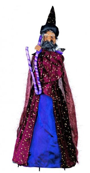 Halloween-Leuchte beleuchteter und bewegliche Zauberer Merlin
