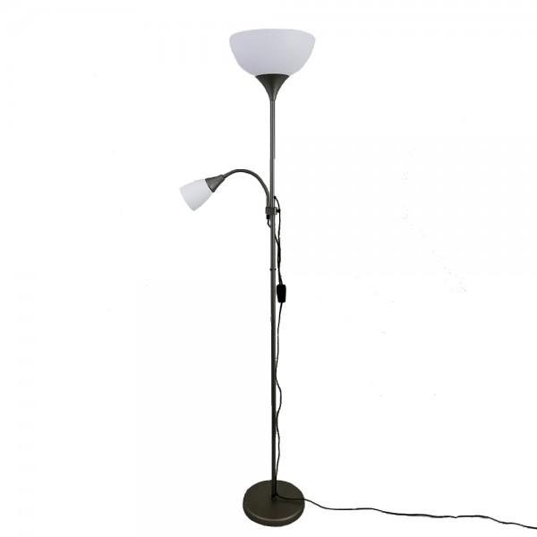 Stehleuchte KORA Fluter mit Leseleuchte Standlampe
