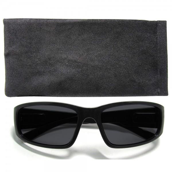 Hochwertige Herren-Sonnenbrille UV400 Schutz mit Etui Strand-Brille