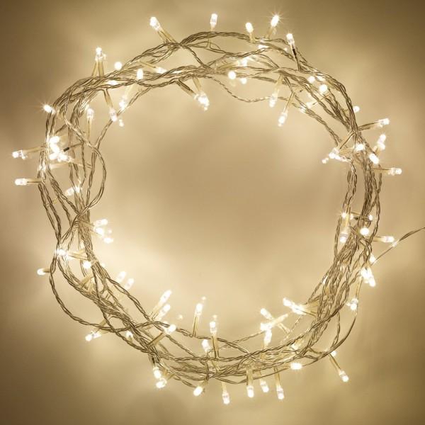 Lichterkette 80 flammig für Innen Dekoleuchten