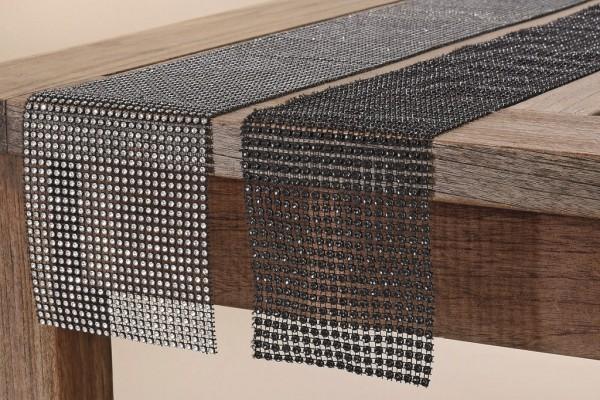 Tischband 2er-Set Stone Tischläufer Tischdekoration