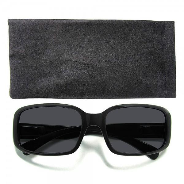 Hochwertige Herren-Sonnenbrille UV400-Schutz, Etui im passenden Design, Sonnen-Schutz