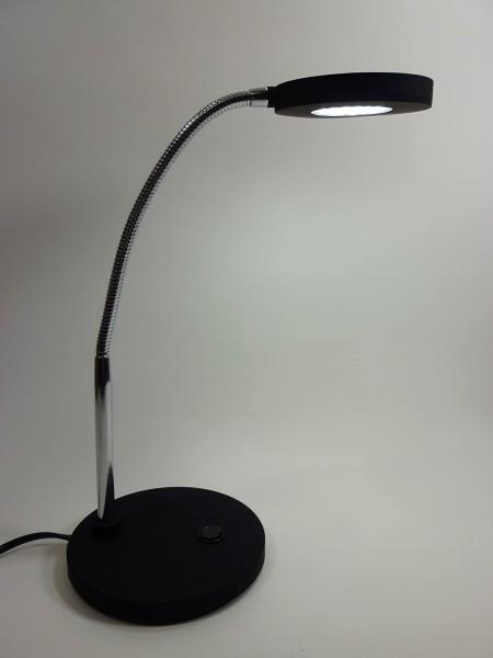 Tischleuchte 30 LED schwarz, 6400K