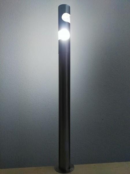 Hochwertige Energiespar-Edelstahl-Außenleuchte Vincent 13W