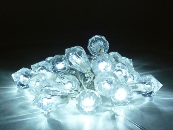 LED Lichterkette DIAMANT für innen 20 flammig