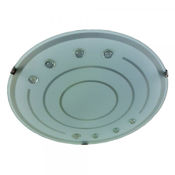 Deckenleuchte GERDA energiesparend Glas-Wand-Lampe