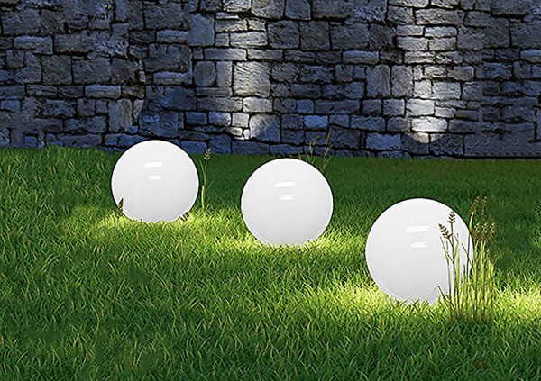 Dalux® Solar-Kugel-Dekoleuchte OLA Garten 3er Set
