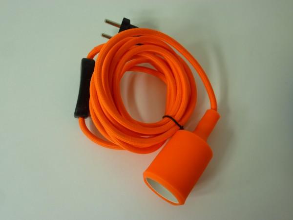 Pendel-Steckdoseanschlußkabel mit Schalter und Stecker Lampenpendel