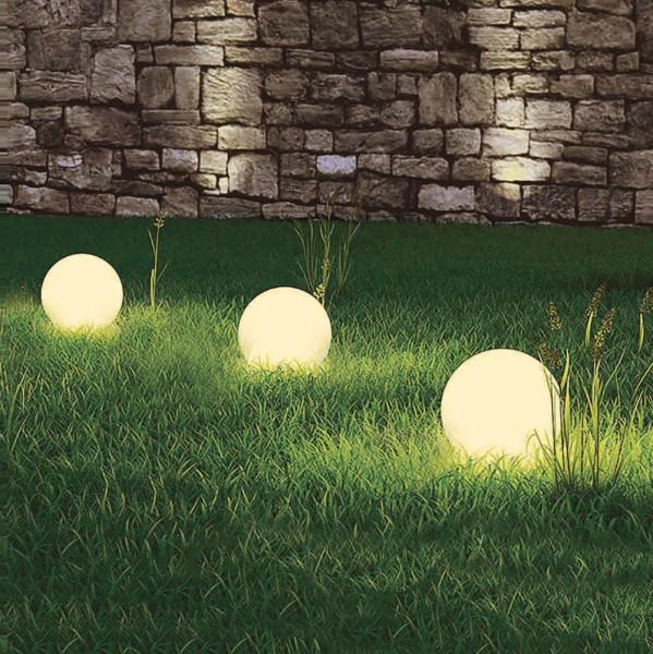 """LED Solarkugel """"Marla"""" 3er Set Solar-Deko-Leuchte"""