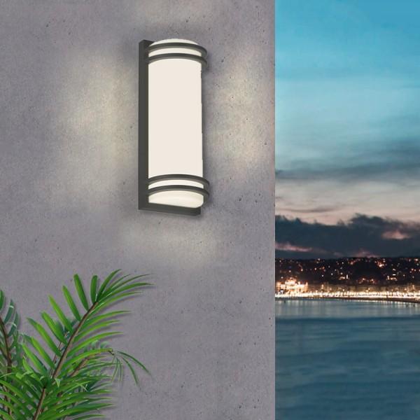 LED Außen-Wandleuchte Bitam