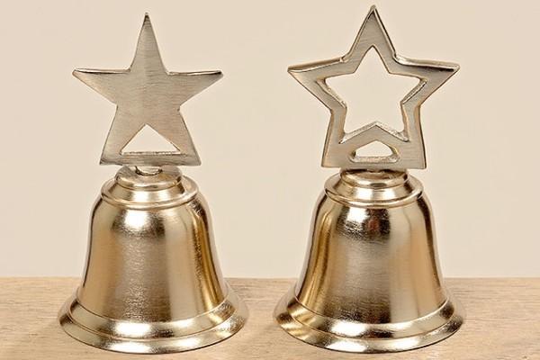 Glocken Gillen 2er Alu gold