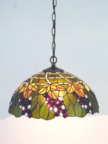 Decken-Pendelleuchte CORINA im Tiffany Stil Hängeleuchte