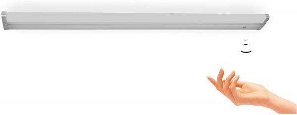 Schwenkbare LED Küchen-Unterbauleuchte 55cm, mit Sensor Schalter Anbau-Wandleuchte