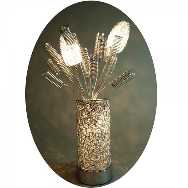 Tischleuchte Blumenleuchte Melissa Dekoleuchte Nachttischlampe Vasenleuchte