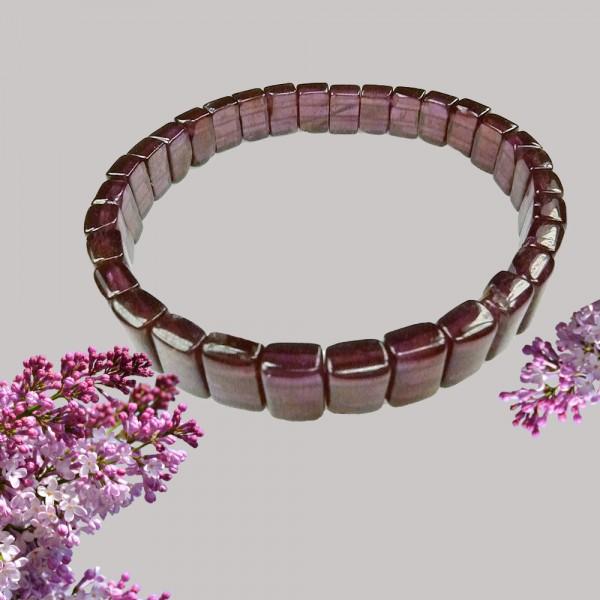 Wunderschönes Edelstein Armband aus rotem Granat Schmuckstein