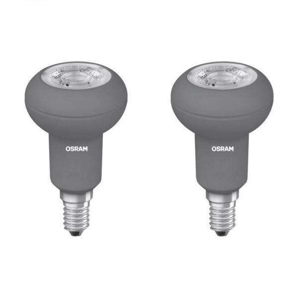 Osram LED Star Leuchtmittel Spot Reflektor 2er Set E14-3,5Watt
