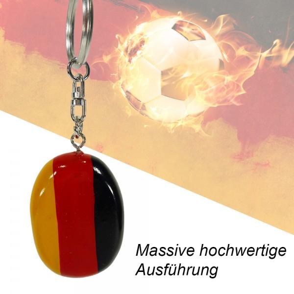 Schlüsselanhänger Deutschland-Flagge oder Fußball