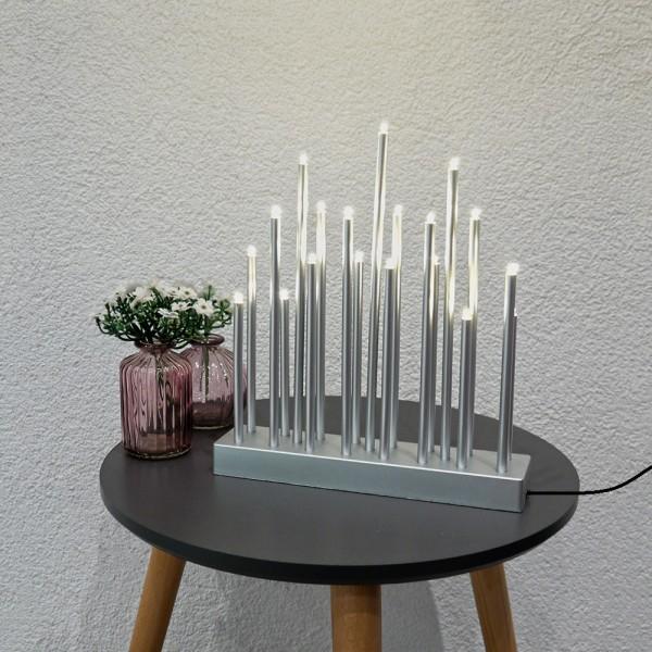 LED Stimmungsleuchte 19 flammig Dekoleuchte Fensterbeleuchtung