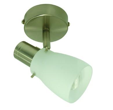 Glas-Decken-Spot-Strahler EIKO inklusive Energiespar Leuchtmittel