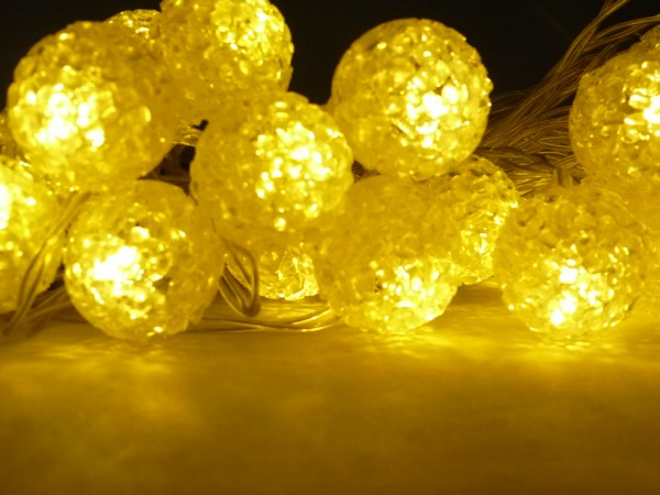 Solar-Lichterkette Pearls