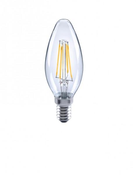 LED Leuchtmittel E14 2 oder 4Watt klar Kerzenform Filament