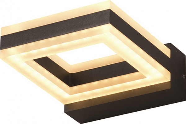 LED Außenwandleuchte Sydney Quadrat