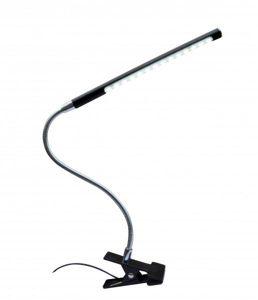 LED Klemmleuchte TONY mit Flexarm und Dimm-Touch-Funktion