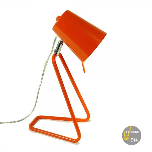Farbenfrohe Tischlampe ROSE Arbeits- Schreibtisch-Kinderleuchte