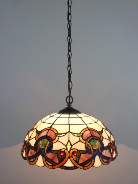 Deckenleuchte COSIMA Hängelampe im Tiffany Stil