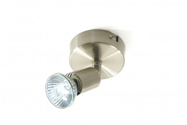 Spot-Strahler LINOS nickel matt 1-6 flammig Decken-Wandleuchte
