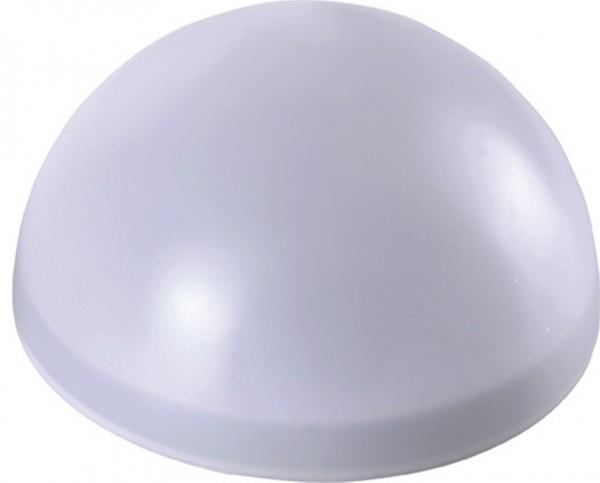 Solar Halbkugel 18cm 3 LED weiß