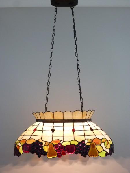 Decken-Pendelleuchte CENTA 3 flammig im Tiffany Stil Hängeleuchte
