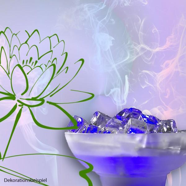 Beleuchteter Tischnebler ICE Glas Eiswürfeln Luftbefeuchter