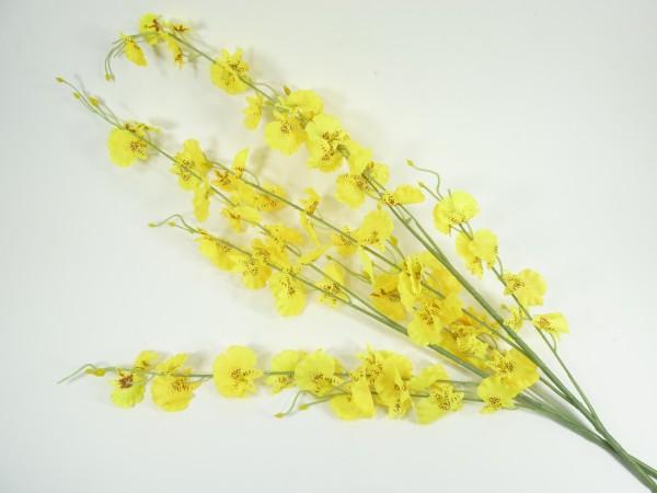 2 x Orchideenzweige Kunstblume Miniorchidee